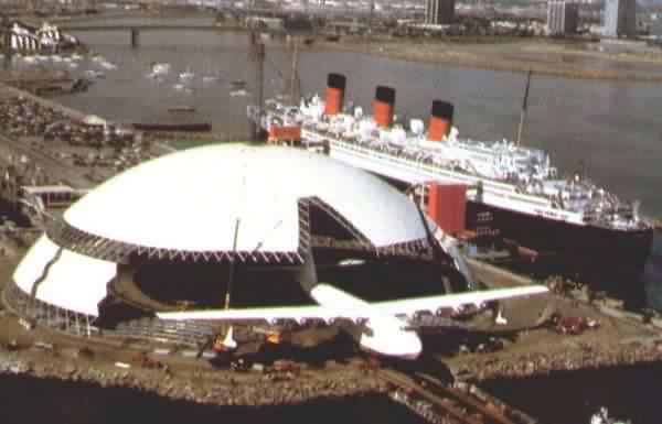 Spruce Goose Dome Long Beach California